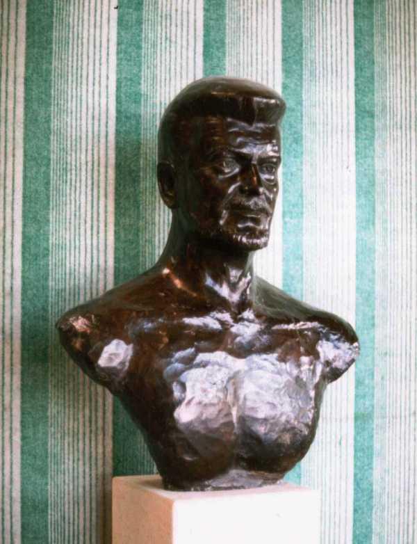 Buste de Michel Baroin