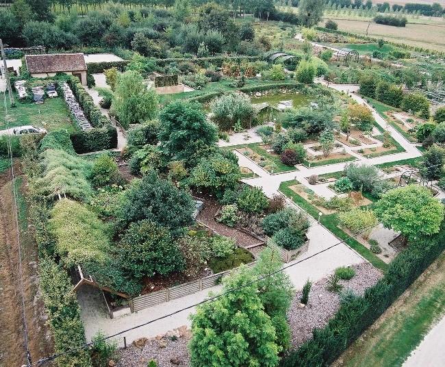 Le Jardin Botanique de Marnay sur Seine